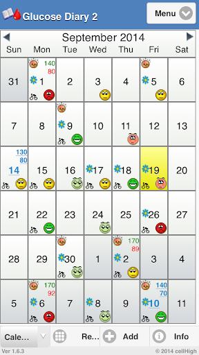 Glucose Diary 2