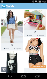 Wish - Lo shopping divertente- miniatura screenshot