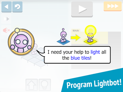 Lightbot Jr : Coding Puzzles – Miniaturansicht des Screenshots