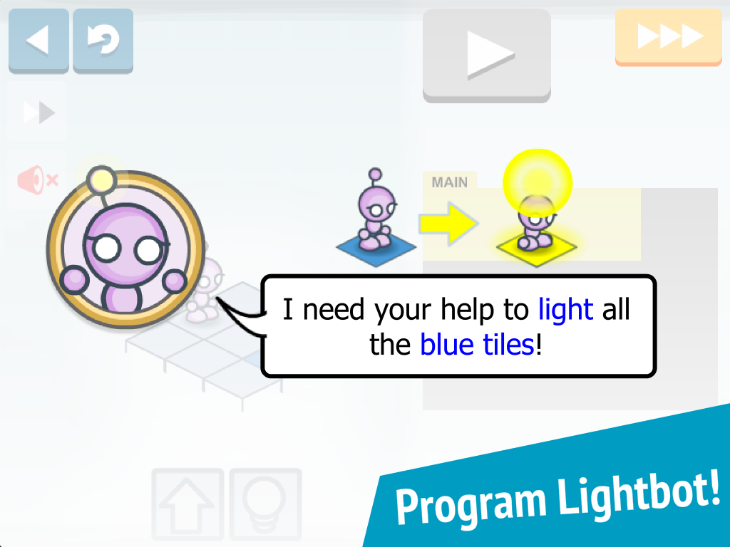 Lightbot Jr : Coding Puzzles – Screenshot