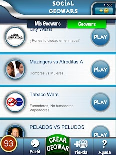 Social Geowars. Play&Win.- screenshot thumbnail