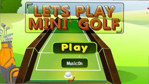 讓我們玩迷你高爾夫球3D