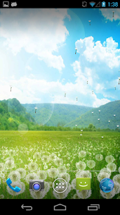 Dandelion Field LWP! - screenshot thumbnail