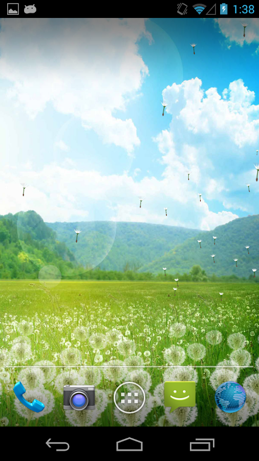Dandelion Field LWP! - screenshot