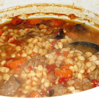 White Bean and Sausage Soup.