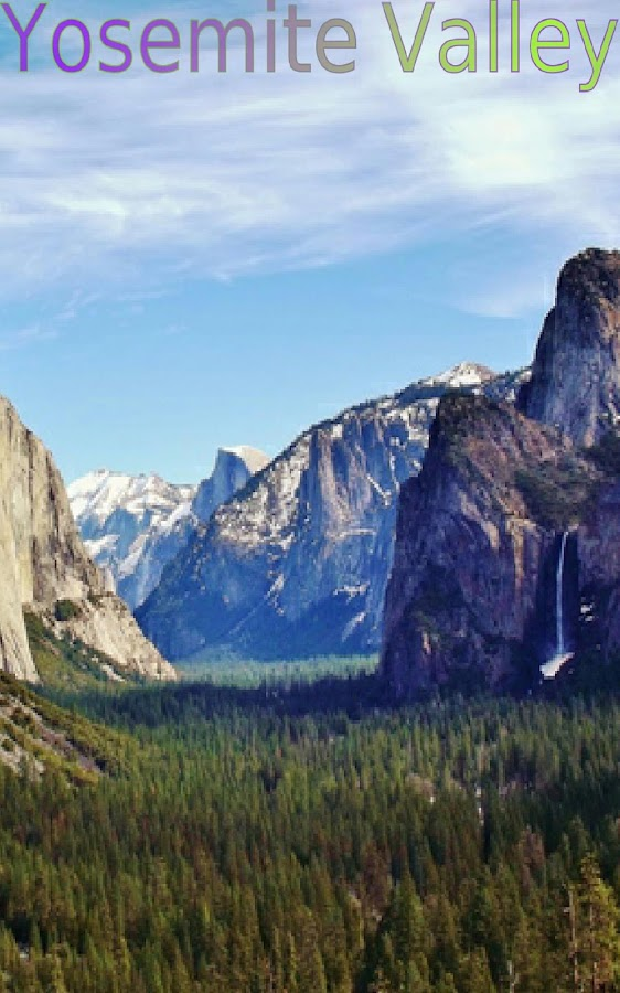 Yosemite National Park USA 1- screenshot