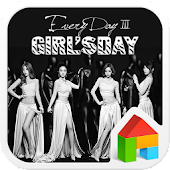 GirlsDay dodol launcher theme