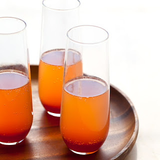 Spiced Blood Orange Champagne Punch.