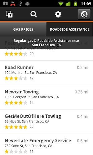 4 Gas Guru: Cheap gas prices App screenshot