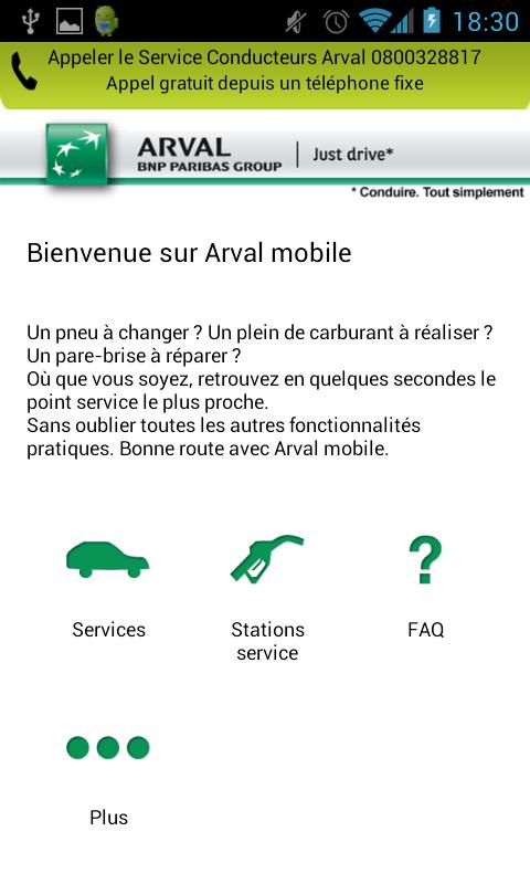 Arval Mobile - screenshot