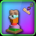 Balance Block 3D icon