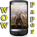 WowPaper World of Warcraft logo