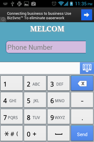 MELCOMM IMS Client