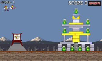 Screenshot of Ninja Bees (free)