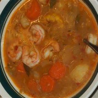 Fresh Vegetable Soup.
