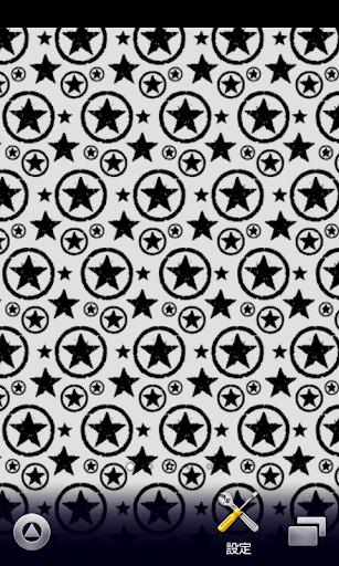 グランジな灰色星柄♪【スマホ待ち受け壁紙】