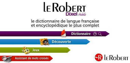 DICTIONNAIRE ROBERT TÉLÉCHARGER DIXEL LE