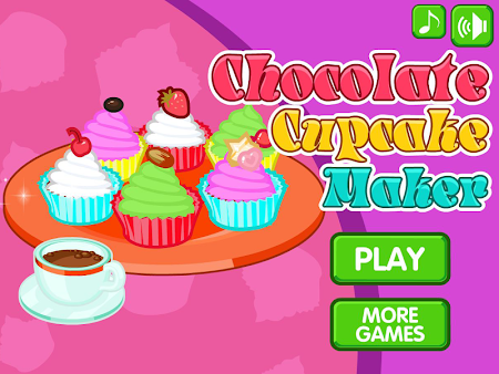 Chocolate cupcake maker 1.0.8 screenshot 560509