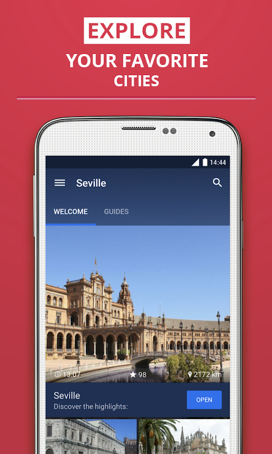 Sevilla Travel Guide - screenshot