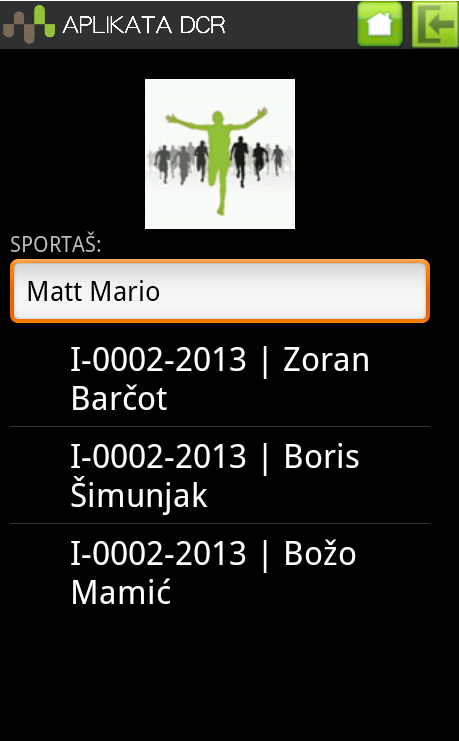 Antidoping Control - screenshot