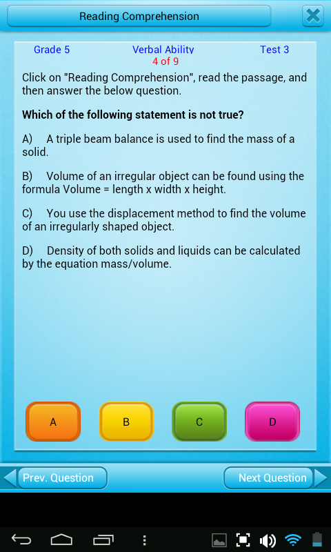 Free Grade 5 Math English 5th - screenshot