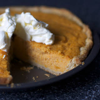 Sweet Potato Buttermilk Pie.