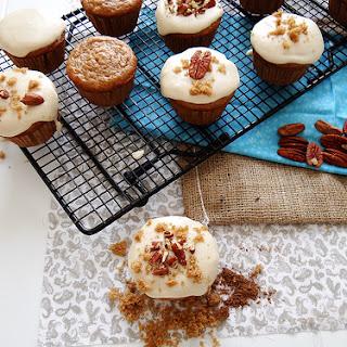 Bourbon Brown Sugar Cupcakes.