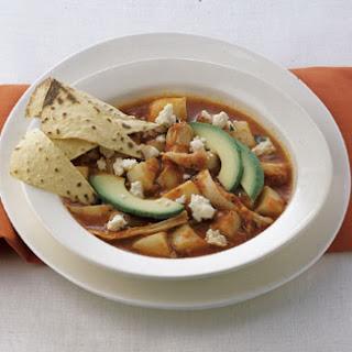 Puebla Chicken and Potato Stew