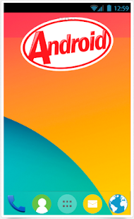 Tema KitKat 4.4 per Android