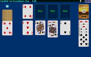 Screenshot of Stellar Solitaire
