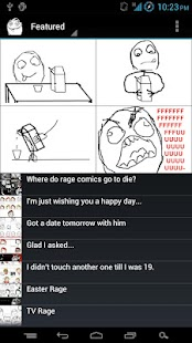 RageSwipe - Rage Comics Reader - screenshot thumbnail