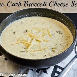 Low Carb Broccoli Cheese Soup.