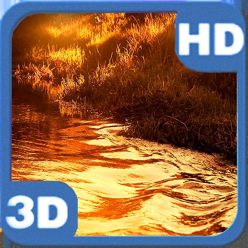 Glitter River Autumn Sunset LOGO-APP點子