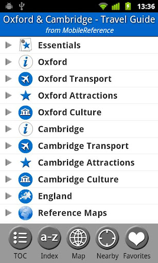 Oxford Cambridge FREE Guide