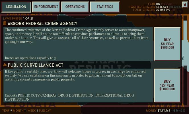 Deep State - screenshot