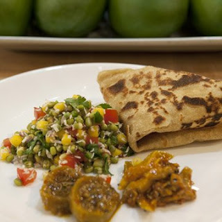 Chapati With Vegetables Recipes.