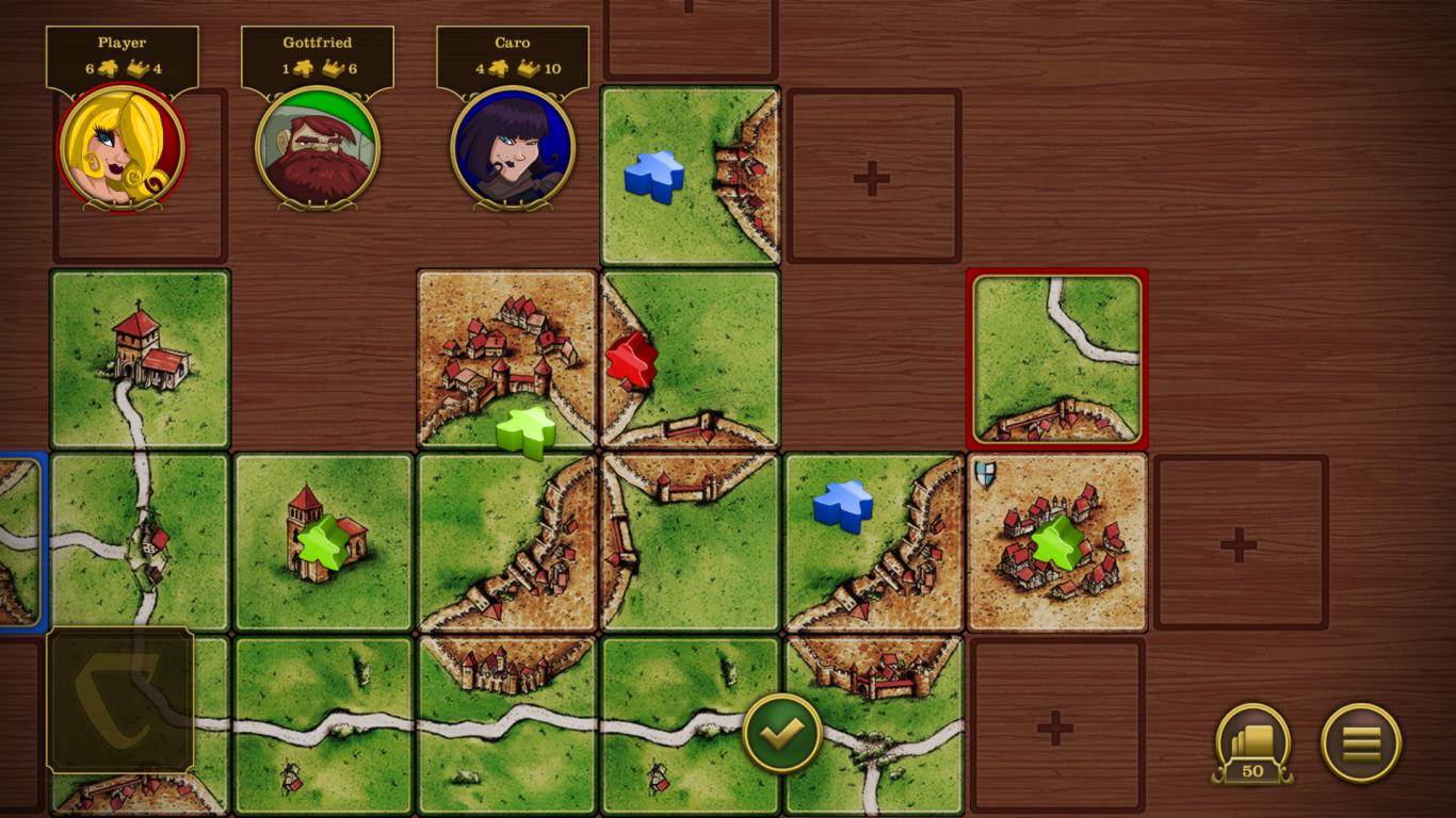 Carcassonne screenshot #1