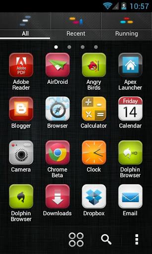 iDroid HD GoLauncherEx Theme v1.0