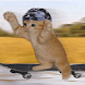 Skater Kitty Live Wallpaper