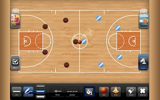 Screenshot of TacticalPad Basketball Lite
