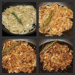 Caramelized Onion & Gruyere Tart.