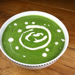 Allergy Fighting Nettle, Sorrel & Leek Soup