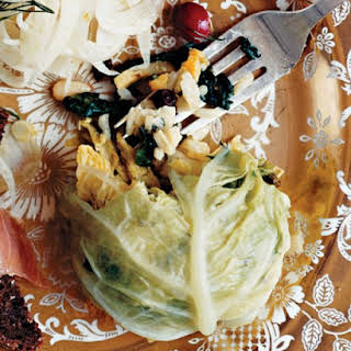 Rice-Stuffed Cabbage.