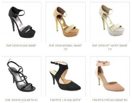 Shoe Shop Group Catalog