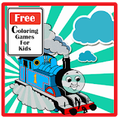 The Train Coloring Games Kids