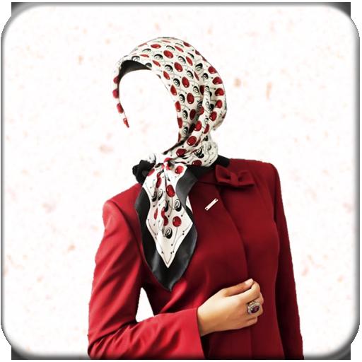 Hijab woman Photo LOGO-APP點子