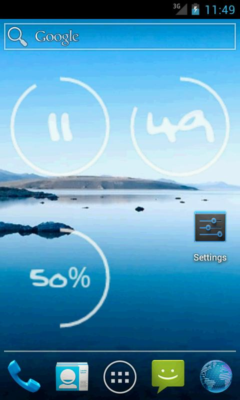 Circle Widget- screenshot