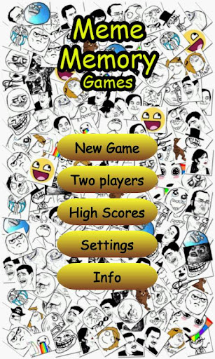 Meme Memory Games