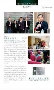 KBank THE PREMIER Magazine- screenshot thumbnail