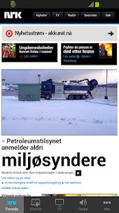 nrk.no - screenshot thumbnail